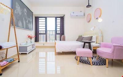 [Dream] Room1, apartment with 100 inch projection   5 minutes Ocean Kingdom   Macau   Hong Kong-Zhuhai Bridge