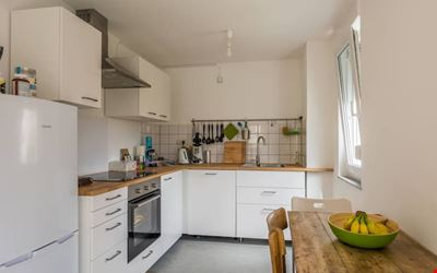 Bright 2 rooms kitchen bathroom balcony - Entire accommodation
