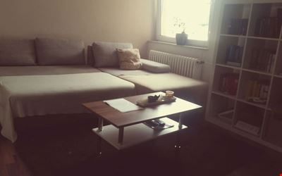 Large, bright room in the center of Mannheim