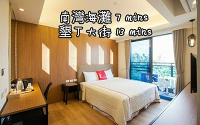 New house (free transfer) SongPing INN two person balcony, elevator, single guard