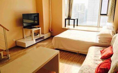 Shenyang Diamond Constellation warm color duplex apartment