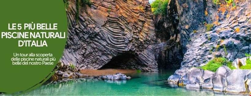 Le 5 più belle piscine naturali in Italia