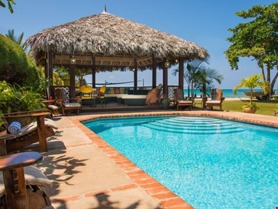 Beautiful beachfront villa on picturesque Bengal Beach in a gated community
