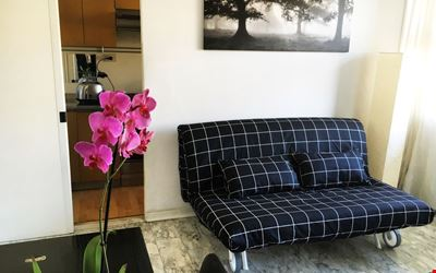 Spacious and bright one bedroom with cozy balcony