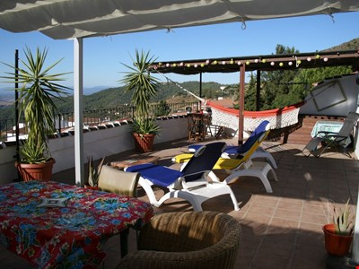 Homely home with spectacular Africa view in the white village of Gaucin