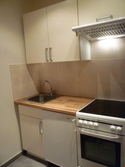 Centrally located, newly renovated non-smoking apartment with pool and sauna.