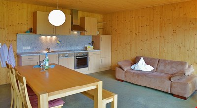 Bioholzhaus enjoys a peaceful, unspoilt location, surrounded by meadows