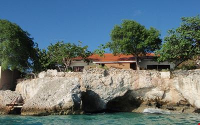 Charming oceanfront home with private swimming/dock