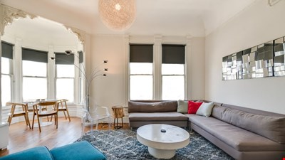 Newly Remodeled Victorian Beauty Two Bedroom In The Haight Ashbury