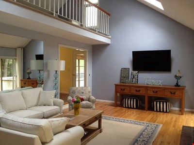 Falmouth Family Ready Vacation Home with Water Access